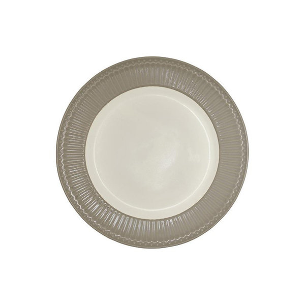 Speiseteller Alice Warm Grey / Taupe von Greengate