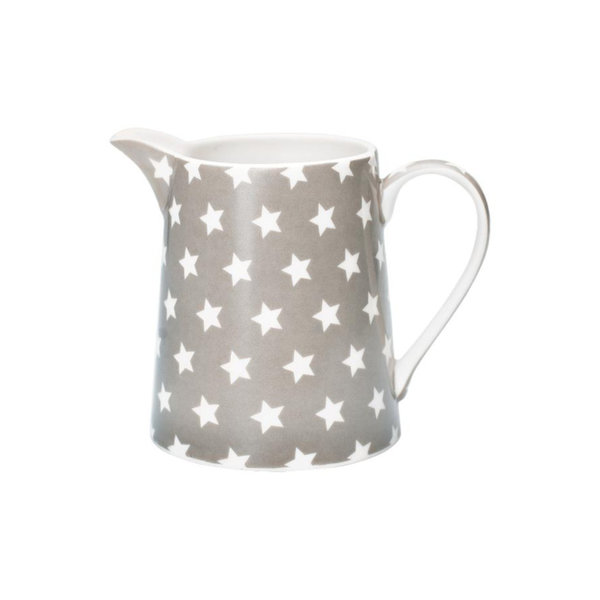 Krug Star Warm Grey / Taupe, 0,5 Liter, von Greengate