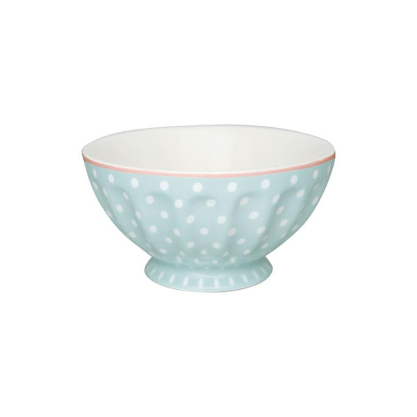 French Bowl XL Spot Pale Blue von Greengate