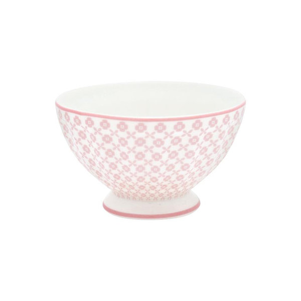 French Bowl M Helle Pale Pink von Greengate