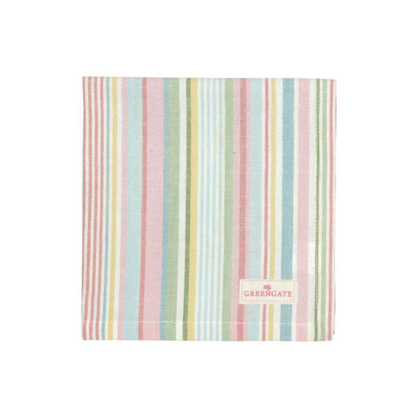 Stoffserviette Pipa Soft Stripe von Greengate