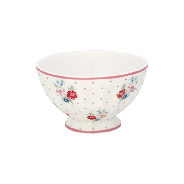 French Bowl M Eja White von Greengate