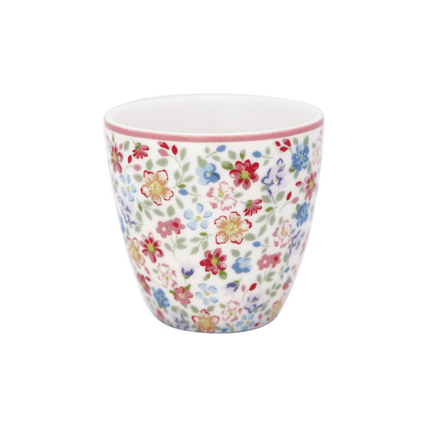 Mini Latte Cup Clementine White von Greengate